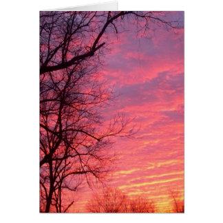 Amazing Sunrise Card