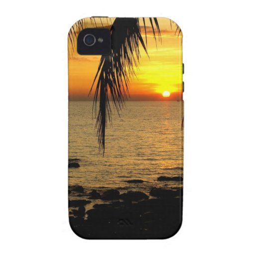 Amazing Sunset at the Beach iPhone 4/4S Case