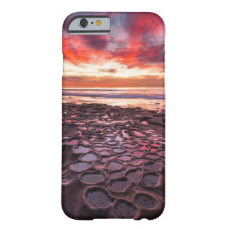 Amazing sunset at the tide pools barely there iPhone 6 case