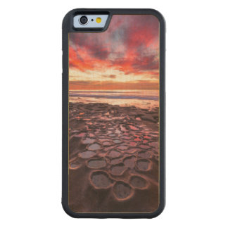 Amazing sunset at the tide pools carved® maple iPhone 6 bumper