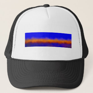 amazing sunset trucker hat