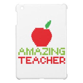 AMAZING TEACHER with digital apple iPad Mini Cover