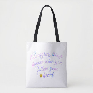 Amazing Things Tote Bag