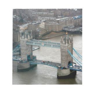 Amazing! Tower Bridge London Memo Note Pad
