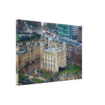 Amazing! Tower of London England. Stretched Canvas Print