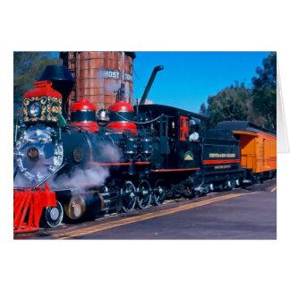 Amazing Train Blank Card