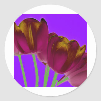 Amazing Tulips3 копия Sticker
