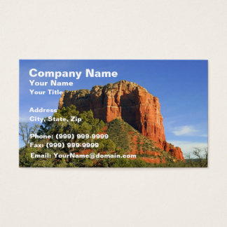 Amazing View at Sedona - Arizona Business Card