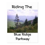 Amazing View Of Winding Blue Ridge Parkway Postcard