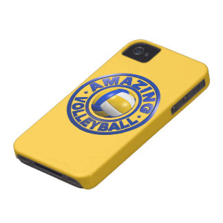 Amazing Volleyball iPhone 4 Case