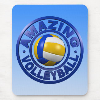 Amazing Volleyball Mouse Pad