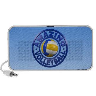 Amazing Volleyball Laptop Speakers