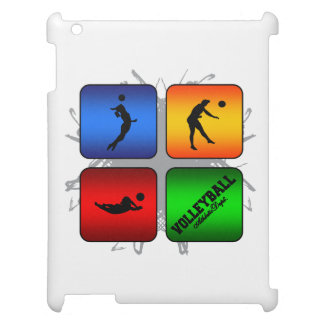 Amazing Volleyball Urban Style iPad Cover