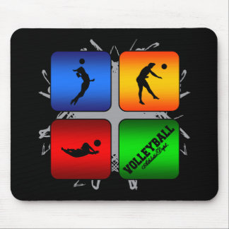 Amazing Volleyball Urban Style Mouse Pad