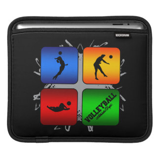 Amazing Volleyball Urban Style Sleeve For iPads