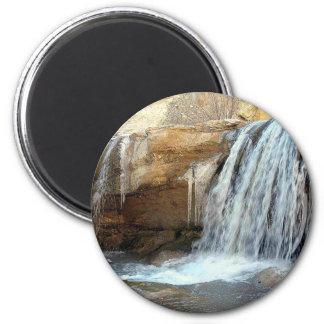 amazing waterfall 2 inch round magnet