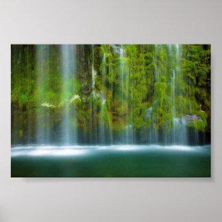 Amazing Waterfall Fantasy Poster