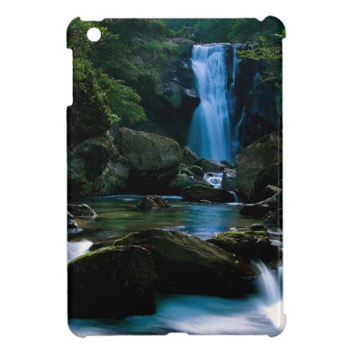 Amazing waterfall iPad mini covers