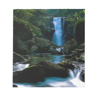 Amazing waterfall notepads