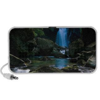 Amazing waterfall portable speaker