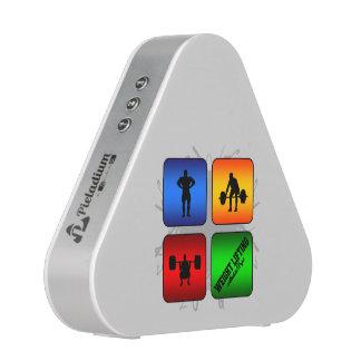 Amazing Weight Lifting Urban Style Bluetooth Speaker