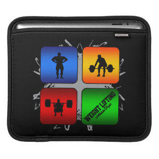 Amazing Weight Lifting Urban Style Sleeve For iPads