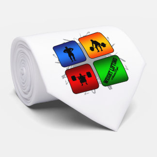 Amazing Weight Lifting Urban Style Tie
