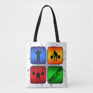 Amazing Weight Lifting Urban Style Tote Bag
