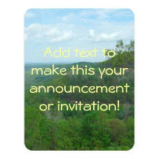 Amazing West Virginia Mountain View Card