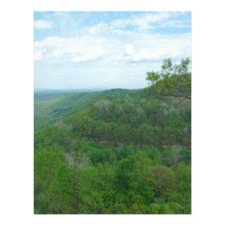Amazing West Virginia Mountain View Letterhead