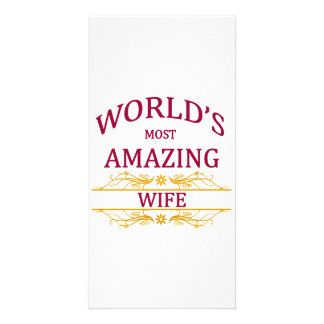 Amazing Wife Card