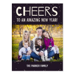 Amazing Year New Year Photo Card Postcard
