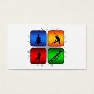 Amazing Yoga Urban Style Business Card
