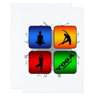 Amazing Yoga Urban Style Card