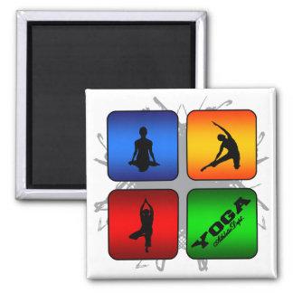 Amazing Yoga Urban Style Magnet