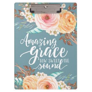 AmazingGrace acrylic clipboard