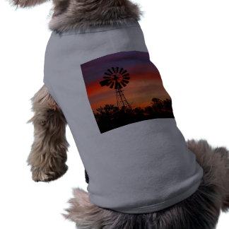 Amazingly Colorful Dawn Sunrise Windmill Shirt