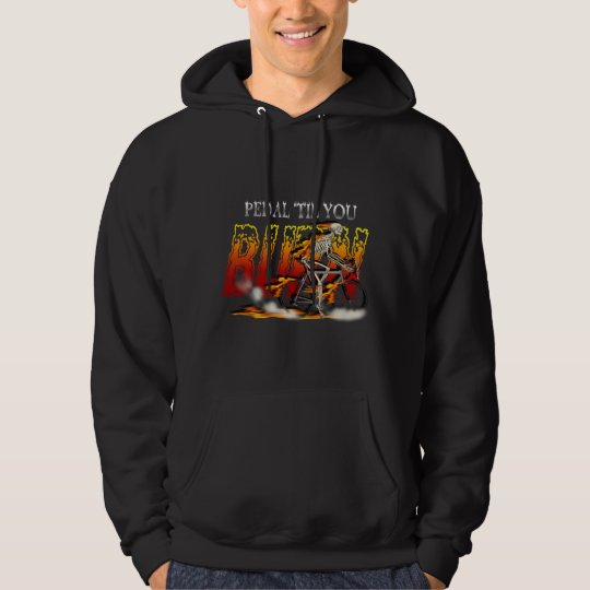 Amazingly Cool Spinning Cyclists Cyling gift Hoodie