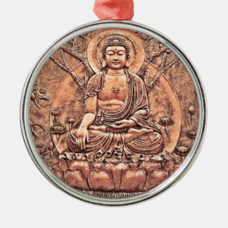 Amazingly Detailed Copper Buddha Metal Ornament