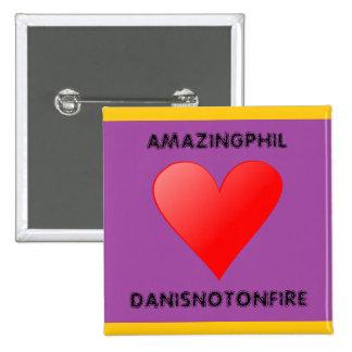 AmazingPhil ama el botón de Danisnotonfire