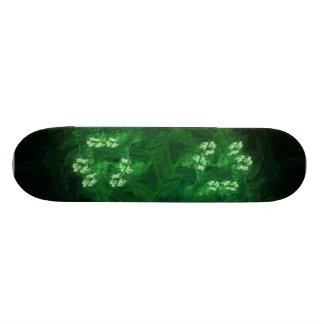Amazon Abstract Digital Fractal Art Skate Board Deck
