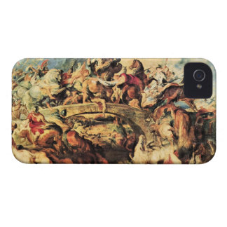 Amazon Battle by Paul Rubens iPhone 4 Cases
