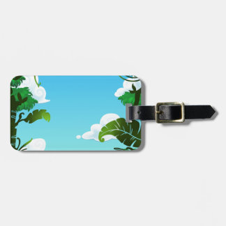 Amazon Forest Painting Tag For Bags