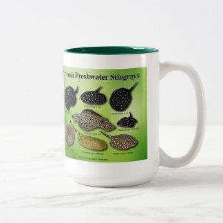 Amazon Freshwater Stingrays Two-Tone Coffee Mug