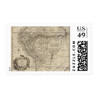 Amazon in Peru Postage Stamp