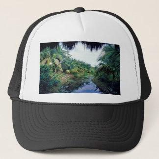 Amazon Jungle River Landscape Trucker Hat