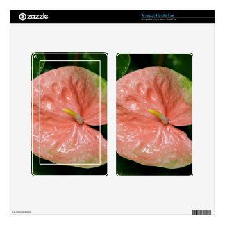 Amazon Kindle Fire Skin - Anthurium