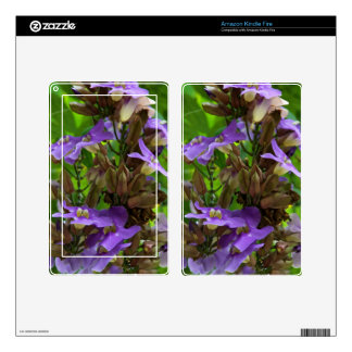 Amazon Kindle Fire Skin - Blue Ginger