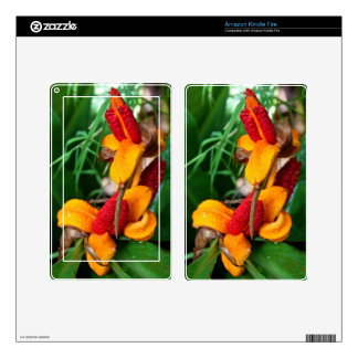 Amazon Kindle Fire Skin - Floral