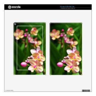 Amazon Kindle Fire Skin - Orchidaceae